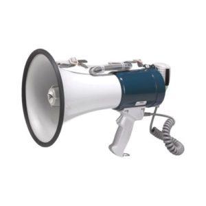 Megafoon 25 Watt met sirene