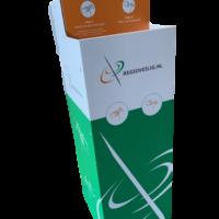 desinfectiezuil met logo